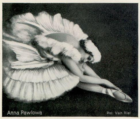 Anna Pavlova vintage ballet ballerina photo