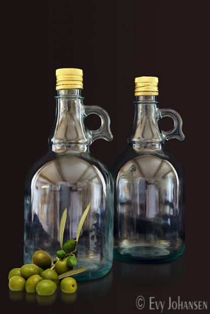 Bottled Olive Oil