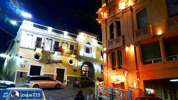 http://OkXela.com #Follow @josue725: Nighttime in #Xela #Quetzaltenango #Guatemala #ILoveXela #AmoXela #CentralAmerica #Travel #architecture #xelaju