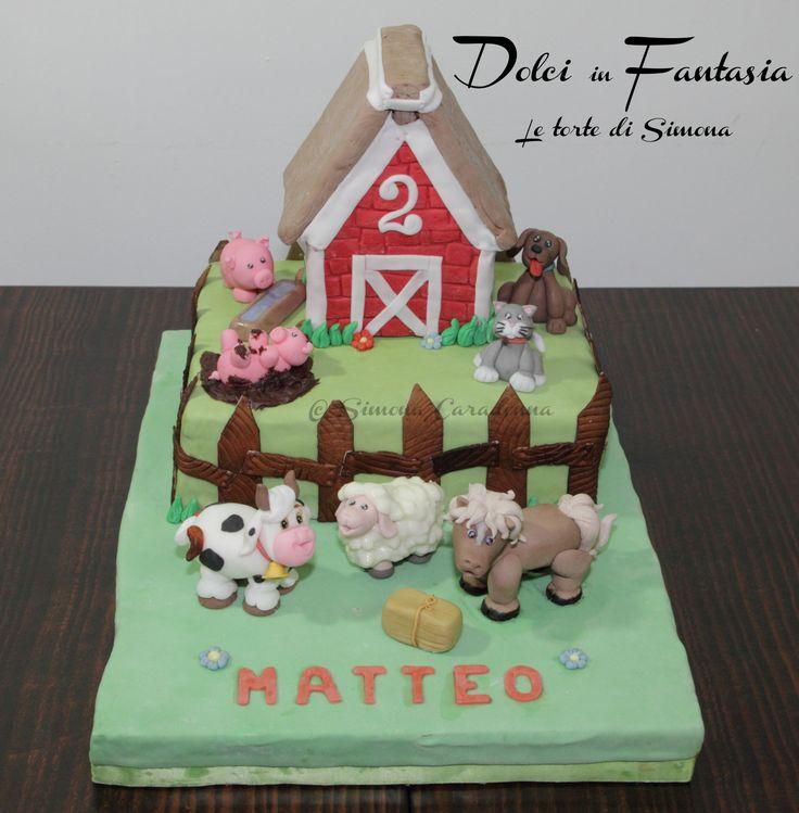 Farm cake #farm #animal