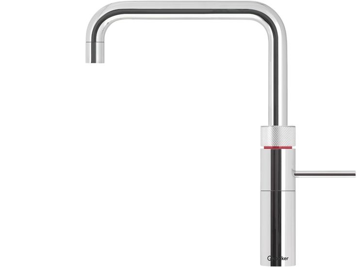 The Quooker Fusion Nordic Square offers cold, hot and boiling water from a single tap. With a child-resistant push and turn tap, 360º movement, and a host of other features, this beautiful square design would look great in any kitchen space. It is available in chrome or brushed chrome.  The Fusion was declared Best Product of the Year in the Northern Design Awards 2013.