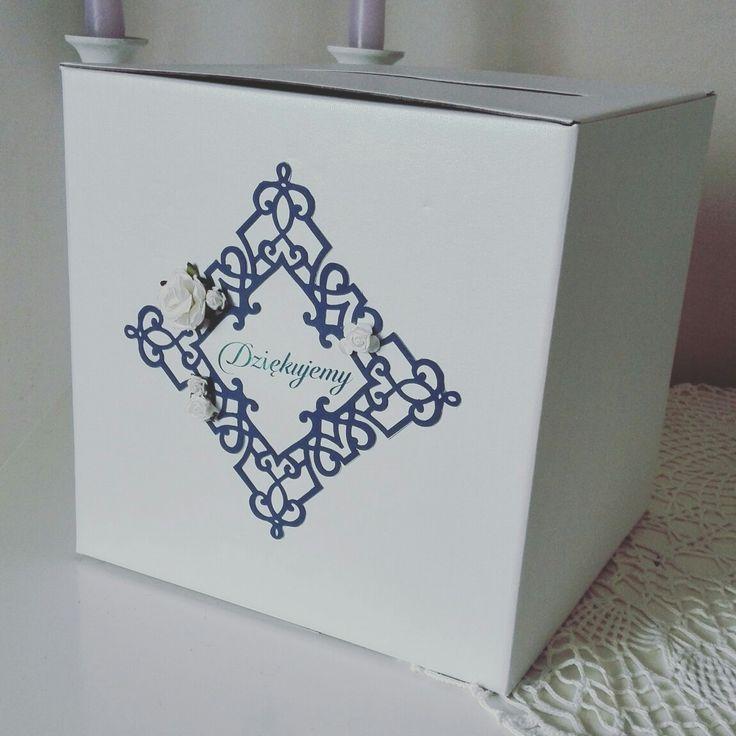 Nasze pudełko dziś ruszyło w drogę do naszych sierpniowych nowożeńców.