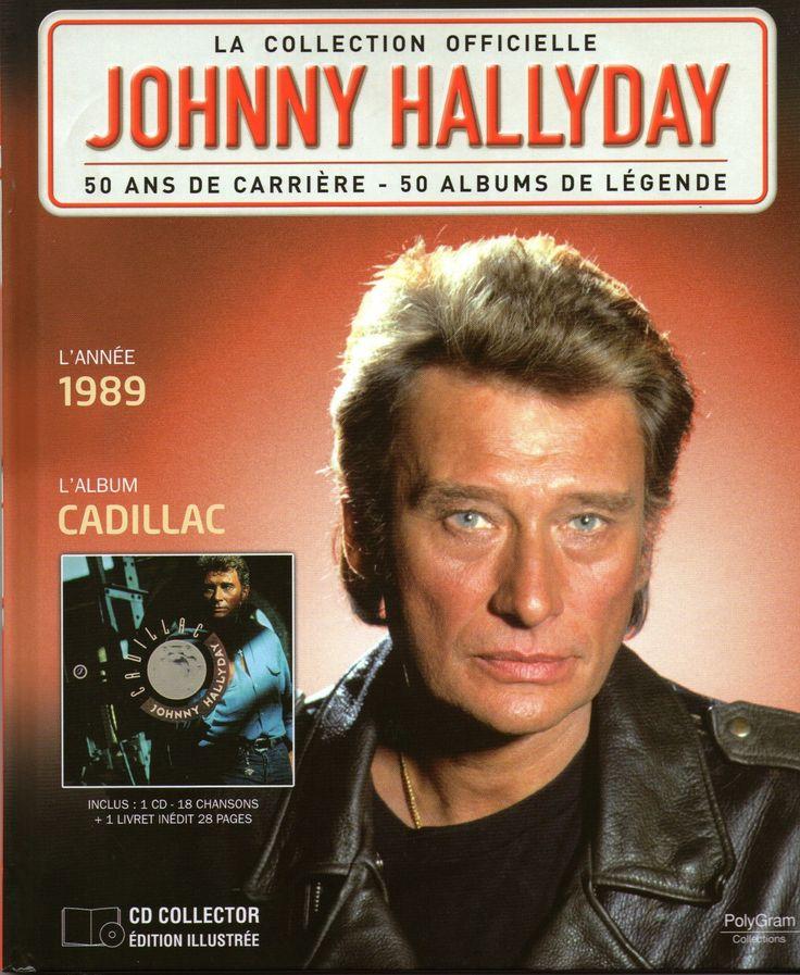 la collection officielle johnny hallyday 50 ans de carri re 50 albums de lange aux yeux bleus. Black Bedroom Furniture Sets. Home Design Ideas