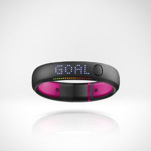 Nike Fuel Band - Pink, Small. MINE I LOVE THIS LITTLE GUY! Named mine Uniqua :D <3