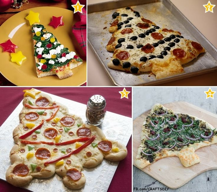 Diy Projects: 4 Delicious Christmas Tree Pizza Recipes