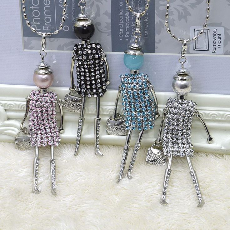 Cheap doll pendant, Buy Quality doll necklace directly from China doll pendant necklace Suppliers: Wholesale 100pcs a lot Free shipping by DHL!!!New doll Pendant Necklace Jewelry sales doll necklace Christmas Gift