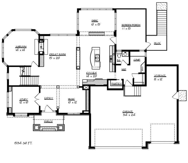 259 best Unique Floor Plans images on Pinterest House plans and