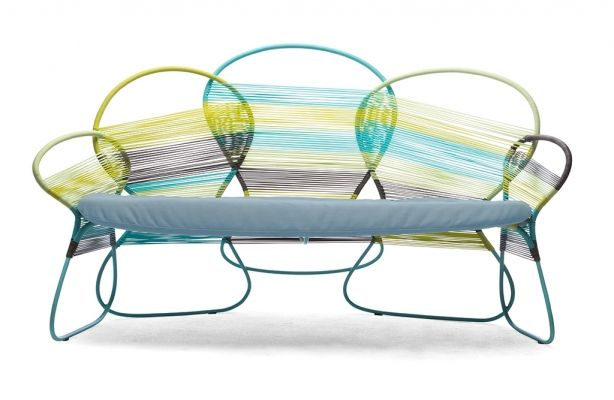 Kenneth Cobonpue : Collections : TRAME : LOVESEAT