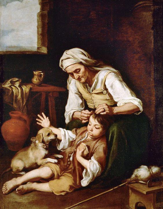 Τουαλέτα (1670-75) Παλαιά Πινακοθήκη Μονάχου