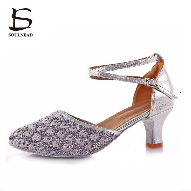 2017 New Silver High-heeled Latin Dance Shoes For Women High-quality Ballroom Tango Salsa Latin Shoes Zapatos Baile Mujer Latino #Affiliate