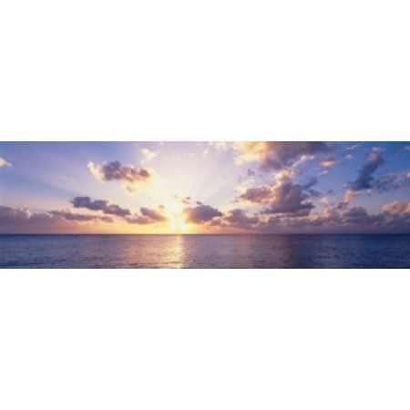 Seven Mile Beach Cayman Islands Canvas Art - Panoramic Images (39 x 12)