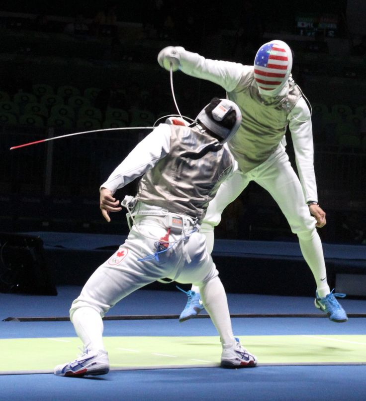 U.S. Olympic Team Retweeted  USA Fencing @USAFencing  10h10 hours ago One win in the books! @gerekmeinhardt is into the 16! #Rio2016 #fencing #TeamUSA