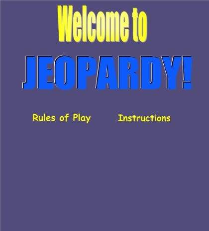 60 best Review and STAAR images on Pinterest School, English - sample jeopardy powerpoint