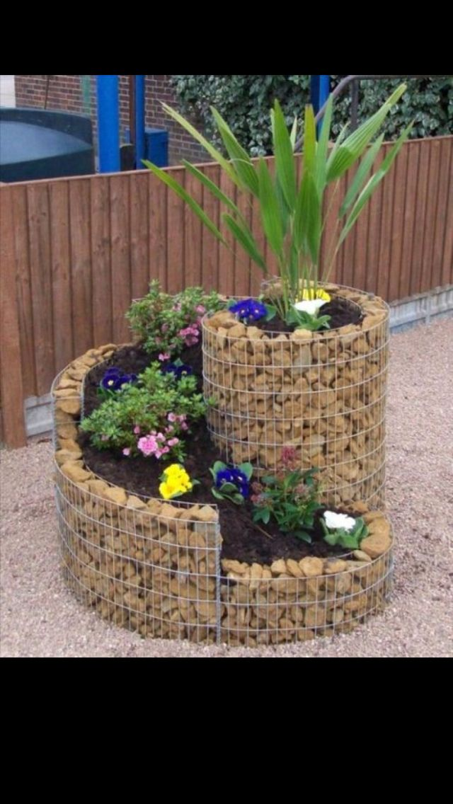 Extremely Cheap And Easy Diy Pretty Planter Yard Work