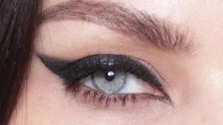 pixiwoo - YouTube. Winged eyeliner for Hooded Eyes