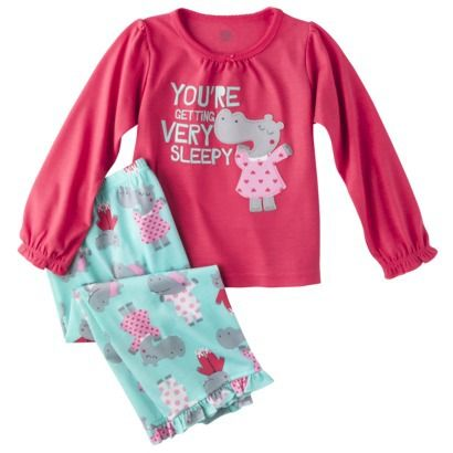 df8184687 JUST ONE YOU® Made by Carters Infant Toddler Girls  Lamb Pajama Set ...