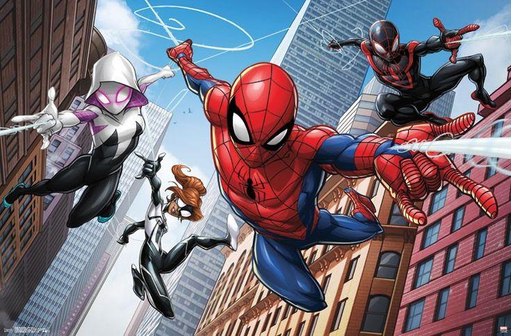Spiderman Web Heroes http://amzn.to/2q2PahQ