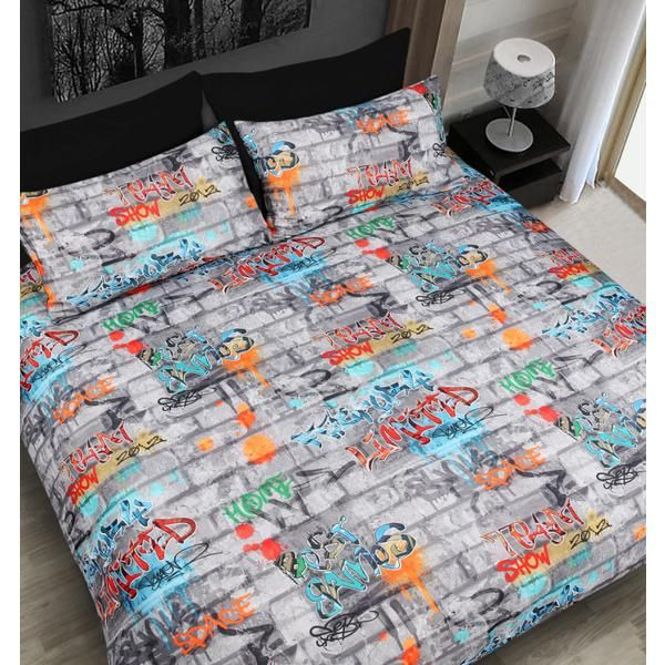Pinterest The World 39 S Catalog Of Ideas Urban Graffiti Bedding Set Ms  Graffiti  Bedding. Urban Graffiti Bed Set