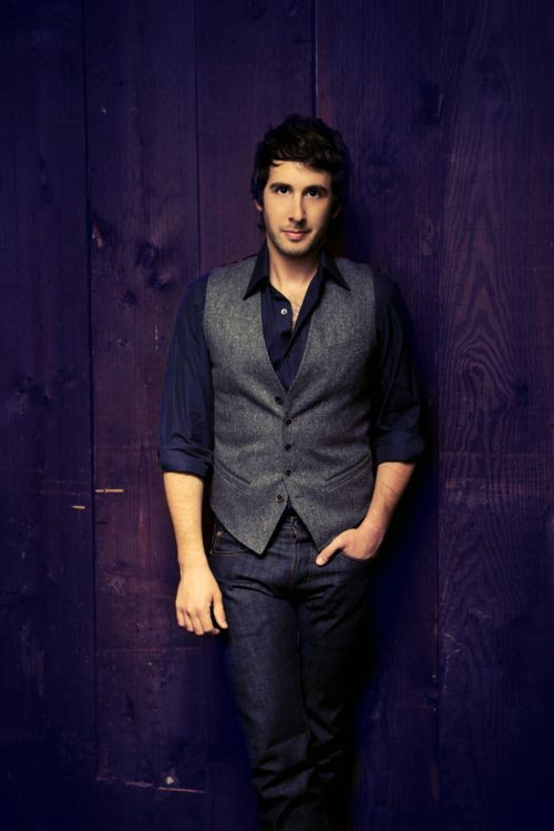 So he cut some of it off, and it somehow looked even more heavenly. | Josh Groban's 16 Most Important HairMoments