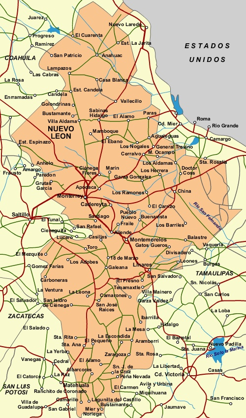 Nuevo Leon Is A State In Ne Mexico Monterrey Is Not Only The Capital And