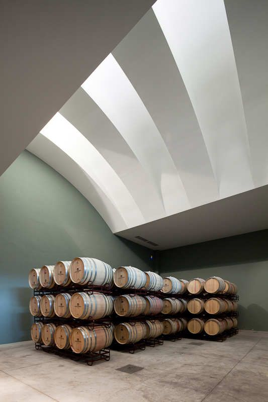 #cantina #cellar #winery Logowines Winery - Évora, Portugal - Design:  PMC Arquitectos