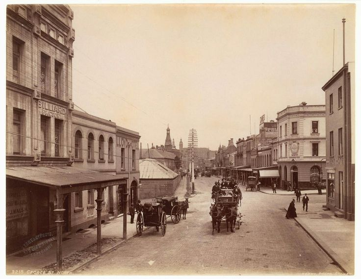 George St North,Sydney (year unknown). •State Library of NSW•