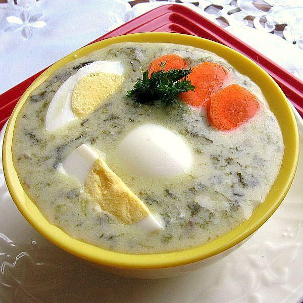 Polish Sorrel Soup Recipe - Zupa Szczawiowa