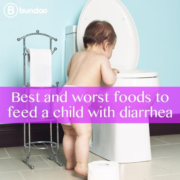 When your child has diarrhea, eliminating certain foods may [or may not] help. Check out the best and worst foods to feed a child with diarrhea.