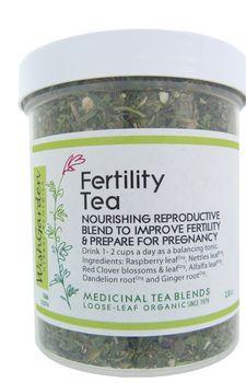 Fertility tea blend