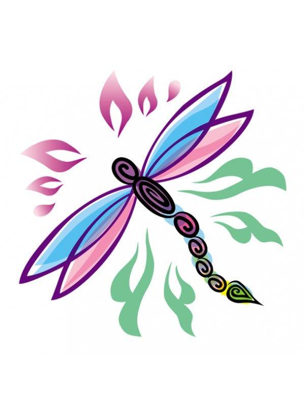 Libellule Tattoo - Tatouage éphémère pour enfants