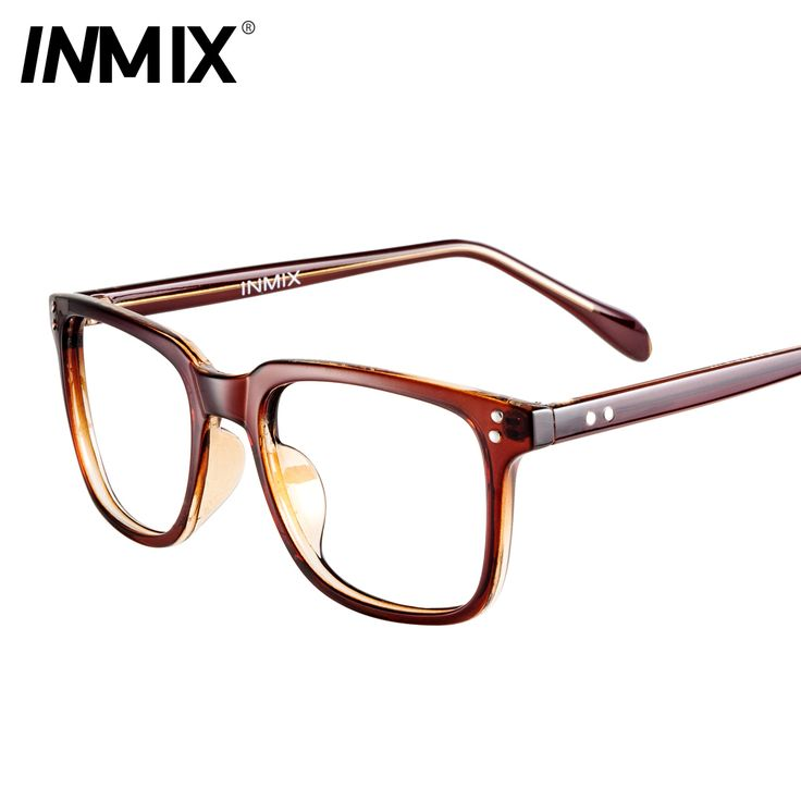 Big Frame Black Glasses : Eyeglasses Frames For Women Black-big-inmix-box-myopia ...
