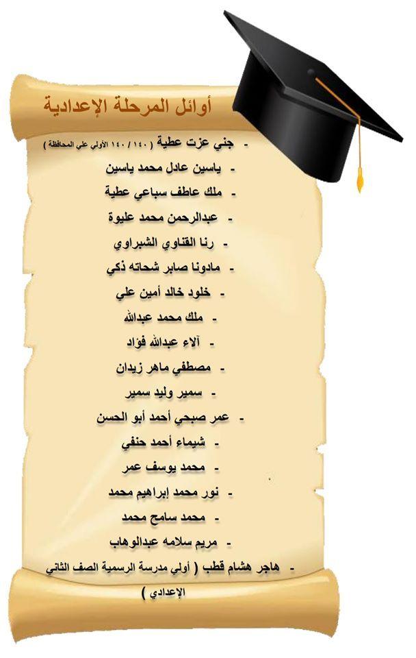 أوائل المرحلة الإعدادية 2020 Teacher Egypt