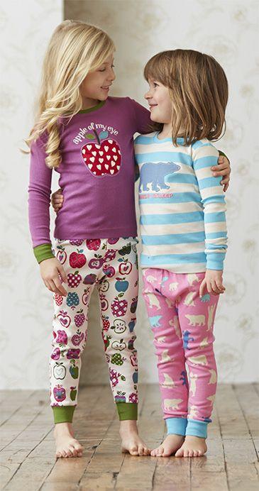 Adorable Hatley girls' pajamas