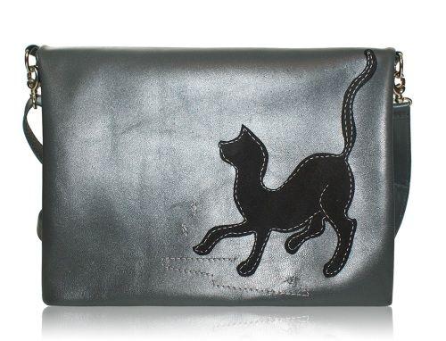 аппликация кошка, сумка с кошками