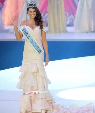 Strahlende Siegerin: Rolene Strauss ist die neue Miss World