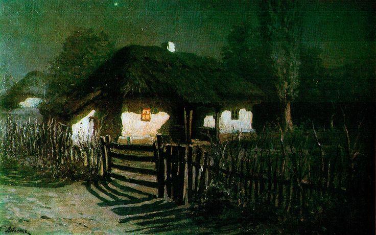 «Ночь. Хата в Моринцах» -Музей українського живопису