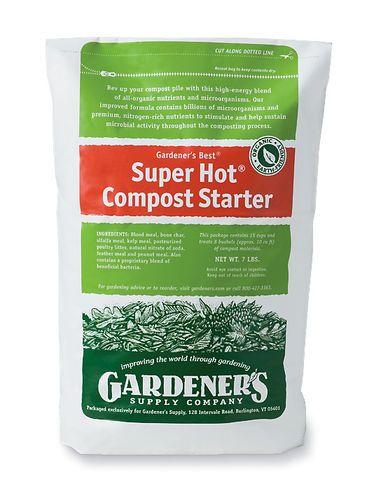 Super Hot® Compost Starter