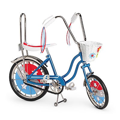 NIB American Girl Julie's Banana Seat Bike SOLD OUT Ready to Ship