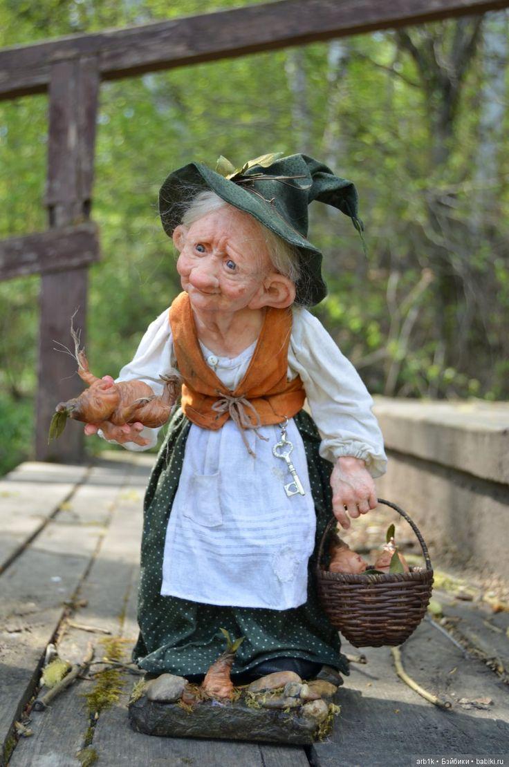 Лесная колдунья. Авторская кукла Катрушовой Татьяны / Авторские куклы своими руками, ручной работы / Бэйбики. Куклы фото. Одежда для кукол