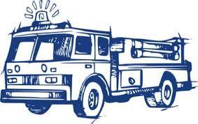 Znalezione obrazy dla zapytania wóz strażacki rysunek