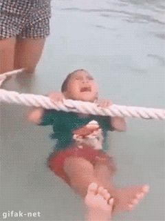 Water Kid Scared.gif