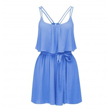 ForeverNew Freya frill top playsuit Main Image
