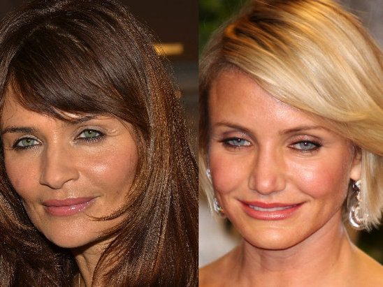 Helena Christensen and Cameron Diaz Secret Sisters I ...