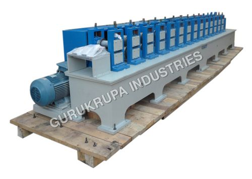 The C & Z purlin roll forming machine is making many types of purlin in one machine only you can change a roller. The whole Manufacturing Process is mainly consists of decoiler, coil sheet pulling down tools, roll forming machine, punching Press, cutting press, hydraulic press, and plc control Panel.