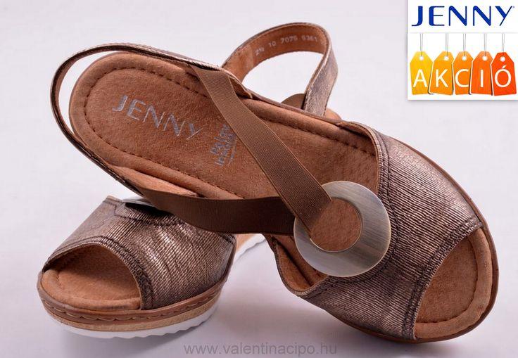 Jennyn női szandál, akciós áron vásárolható vagy kényelmesen rendelhető webáruházunkból 😀  http://valentinacipo.hu/jenny/noi/metal/szandal/142429840  #jenny #jenny_webshop #Valentina_cipőboltok