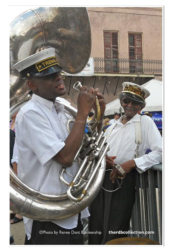 Lionel Batiste Photo - Treme Brass Band Photo - New Orleans Photography - Music Photo - French Quarter - Brass Band Photo