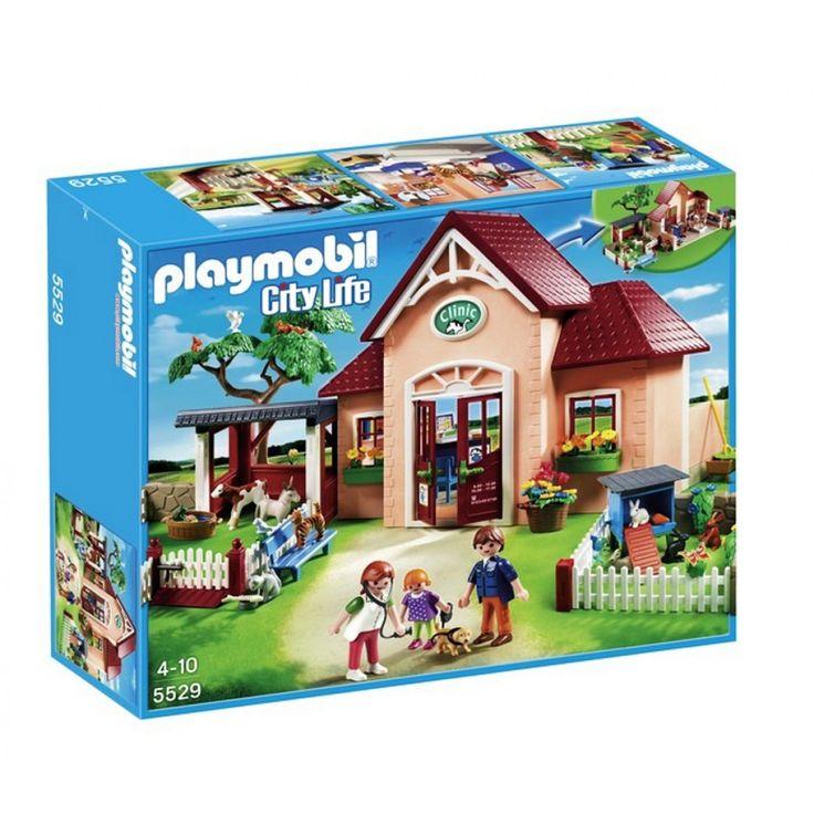 Playmobil Κτηνιατρική Κλινική 5529