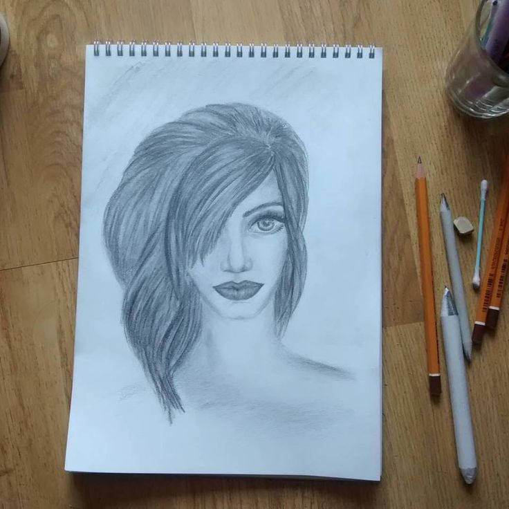 Her lips. #mydrawing #mythoughtsonpaper
