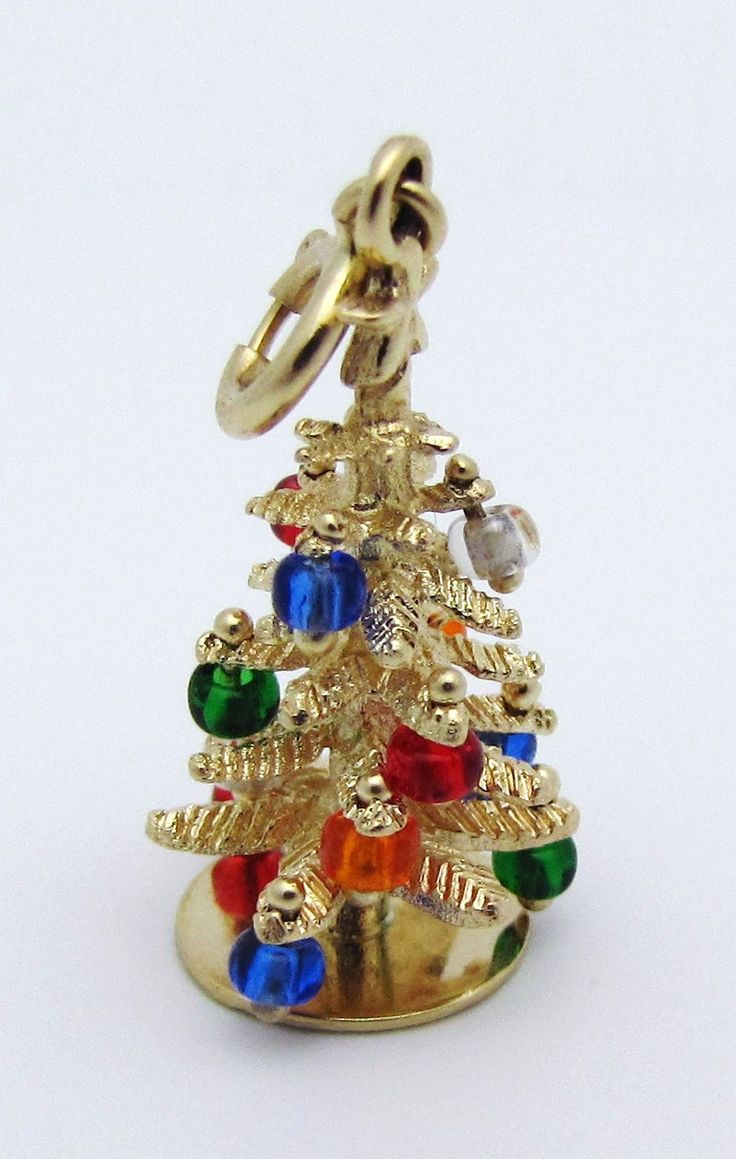 1607 Best Charmed I'm Sure Images On Pinterest Charm Bracelets  - Christmas Tree Charms