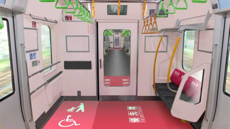 New Yamanote Line train to have more priority seats, wheelchair, baggage space